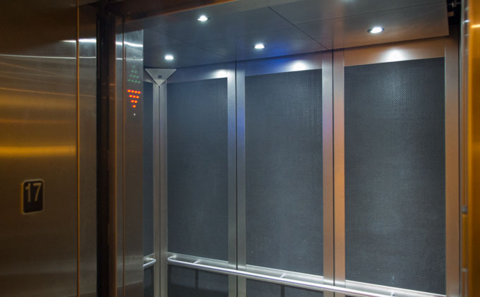 Cab interior options delta elevator co ltd ontario canada for Elevator options